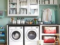 Interior Inspiration - Laundry Rooms / Ideas & inspiration for laundry room redesign, refit and decorating.