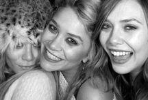 The Ladies Olsen / Love those Olsen ladies / by Justina Soof