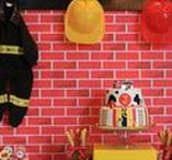 Party Ideas - Fire Engines / Ideas & inspiration for a fire engine party, everything from food, drink and décor to favors and fun DIY to keep the costs down.