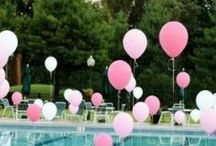 Party Ideas - Summer Pool Party / Ideas & inspiration for your summer pool party, everything from food, drink and décor to favors and fun DIY to keep the costs down.