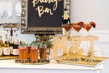 Party Ideas - The Classic Cocktail Party / Ideas & inspiration for a classic cocktail party, everything from food, drink and décor to favors and fun DIY to keep the costs down.