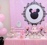 Party Ideas - Minnie's Bow-tique / Ideas, inspiration and DIY instructions for a Minnie's bow-tique themed party.  Food, drink and décor.