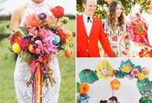 2015 Party Trends / A wrap up of key event & party trends seen during 2015 - includes color palettes, cakes, activities, flowers and themed stations