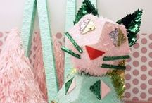 Party Ideas - Japanese Tea Party / Ideas, inspiration & DIY instructions for hosting a Japanese themed party -  from a mommy & me tea party, to origami to Japanese characters and animation ....bold colors and creative uses for paper.  Ideas for food, drinks, décor and packaging, adults & kids.