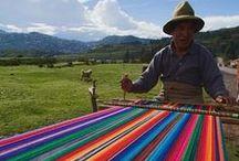wool & weaving / sashes, weaving, looms