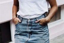 Outfit Inspiration / Meine liebsten Outfits und Fashion Looks von Bloggern. Egal ob ganze oder nur halbe Look.