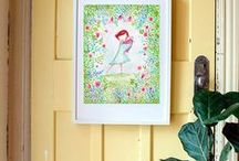 Paula MIlls Kids Prints - art for kids / www.paulamillsart.com  Archival Art prints for nurseries, kids rooms and children's decor.