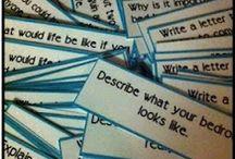 Writing Ideas / by Tiffany Lee