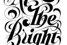 typography / by Bianca Jackson