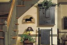 PRIM-COUNTRY-FARM-VINTAGE / ALL THE STYLES OF HOUSES/DECO/FURNISHINGS I LOVE / by Tracy Bedwell