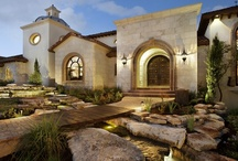 Homes: Spanish & Southwest / Homes designed with Spanish Colonial, Mission, and Hacienda architecture. Also, home styles of the  American Southwest, including Pueblo, Territorial, and others.  / by Ray McCoy