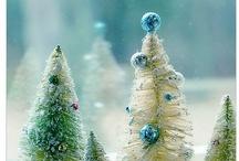 Bottle Brush Trees / by Anne Sogorka Cook