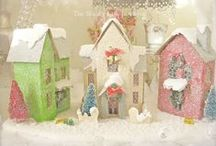 little white houses for you and me / by Anne Sogorka Cook