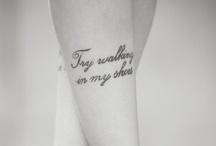 Tattoos / by Kim Gibby