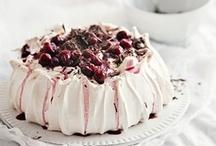 sweet ~ pudding and pavlova