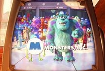 """Monsters Inc."" / by Claire Wrobel"