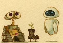 """Wall-E"" / by Claire Wrobel"