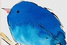 blue / by Anne Sogorka Cook