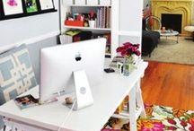 Home Office Design / Home office design inspiration ideas.