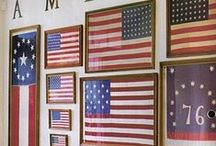 Americana / America and Fourth of July decor and party ideas.