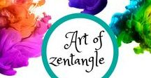 Art of Zentangle / My favorite creative discovery! I love drawing beautiful, intricate designs!