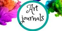 Art Journals/Smash books / Sort of a scrapbook; sort of a journal. Totally creative and fun!