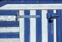 Cabines de plage / Partout dans le monde, elles constellent les bords de mer..
