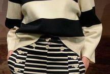 stripes woman