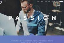 Web Design / Raccolta di screen di alcuni dei siti web ai quali strizzo l'occhio per prendere inspirazione e continuare a creare...