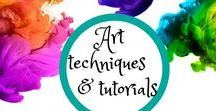 Art Techniques and Tutorials / Lessons on creating various forms of art