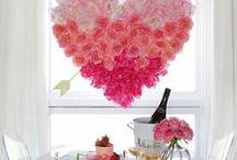 Valentine's Day / Valentine's Day decorations, printables, food