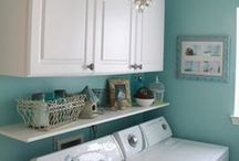 Bathroom | Laundryroom decor / Bathroom | Laundryroom decor and design, organizational aids, wall art