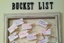 Bucket List / by Katie Peterson