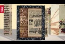Getting Started at the BL / Here are just a few of the stunning collection items that feature in our new Getting Started at the British Library animations. Enjoy!