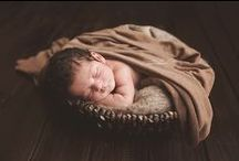 Newborn Photography / NB Photos / pose ideas! / by Nathalie Lopez