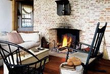 Winter Rooms / Warm tones, comfy furnishings and cosy spaces