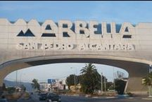 Amazing Marbella! / Marbella is a fancy and glamorous touristic city located in the South of Spain, in the region of Costa del Sol, between Malaga and the Gibraltar Strait. Litlle streets, exclusive secluded villas, always sunny, beautiful golf courses, Marinas and 27km of coastline on the Mediterranean Sea.  Come to visit Marbella and don't miss the opportunity to  discover other amazing little cities located in beautiful Andalucia