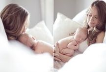 LIfestyle NEWBORN Photography / Inspiration ideas! / by Nathalie Lopez