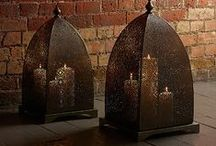 Windlight Collection: Add A Candle For A Warming Glow / Also known as lanterns, windlights are a Lombok staple accessory and a stylish addition to any room in your home. Group them together to create a decorative, Eastern Inspired focal point.