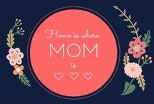 Mother's Day Inspiration / Help Mom feel special with Mother's Day party inspiration and unique gifts.