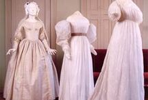 18th C. & 19th C. Fashion  / Regency era fashion was characterized by classical influences and empire waist gowns. This board adheres to fashions popular during Jane Austen's life (1775-1817) and through her sister, Cassandra's, middle age. / by Vic (Jane Austen's World)