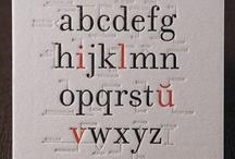 typography / i heart type.