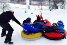 Snow Tubing / Snow Tubing, a fun winter activity for the whole family!