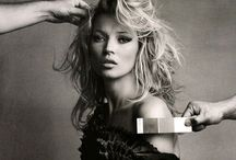 queen kate moss. / kate moss, I mean...what else is there to say?