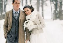 Winter Wonderland / inspiration board curated by us California girls who dream of a winter wedding!