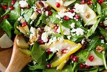 Sensational Salads / Go beyond the Iceberg----> Build a better salad with tasty toppings and other options