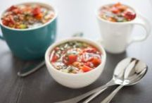 Really Simple Soups / A warm, delicious bowl of pure comfort. Warm up with these super recipes!  / by Epicure
