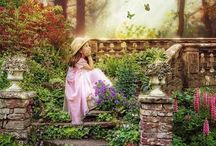 Secret Garden / Enchanting and delightful / by Vic (Jane Austen's World)