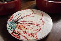 Fazendo Arte / Trabalhos em mosaico feitos por mim!  Aceito encomendas.