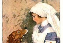 Nurses Throughout History / #Vintage nursing images.